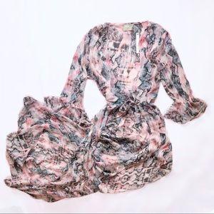 asos swim ⋆ cover up kimono